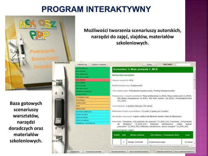 Program interaktywny