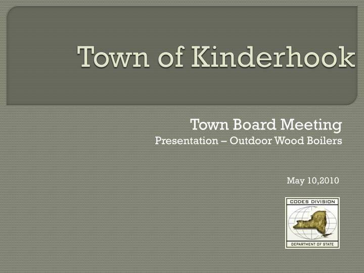 Town of kinderhook