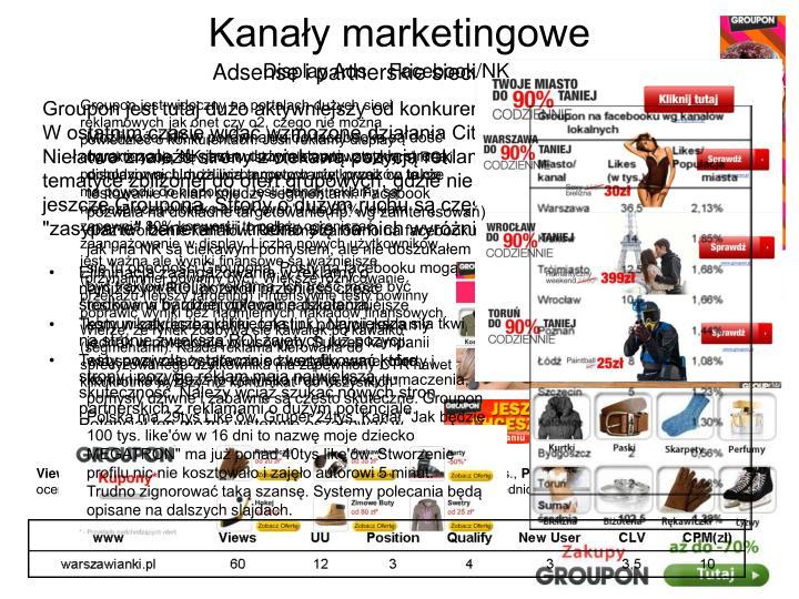 Kanały marketingowe