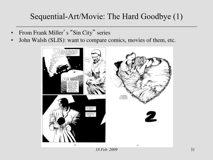 Sequential-Art/Movie: The Hard Goodbye (1)