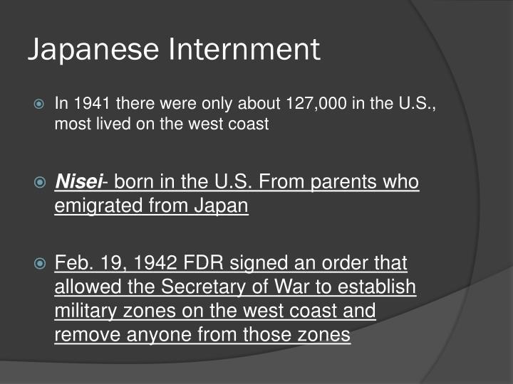 Japanese Internment
