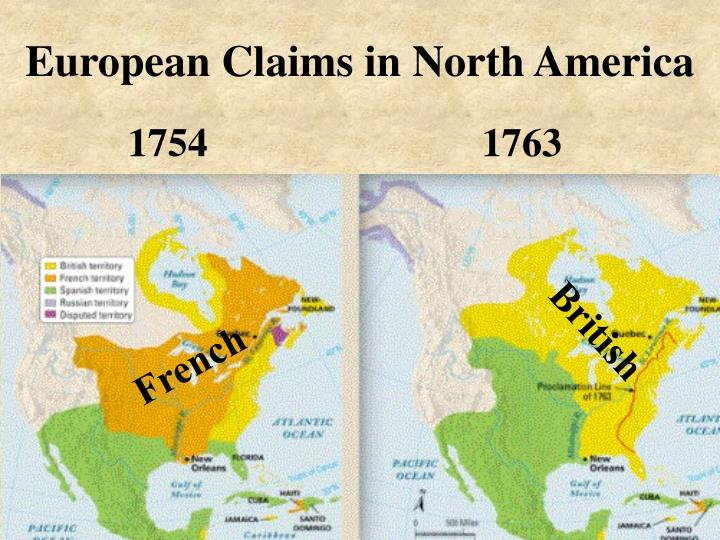 European Claims in North America
