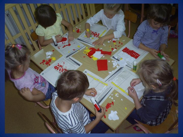 Prace dzieci 4 5 letnich z przedszkola nr 1 w myszkowie