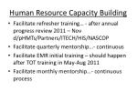 human resource capacity building2