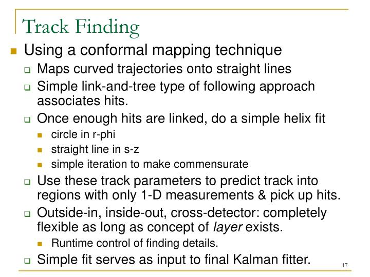 Track Finding