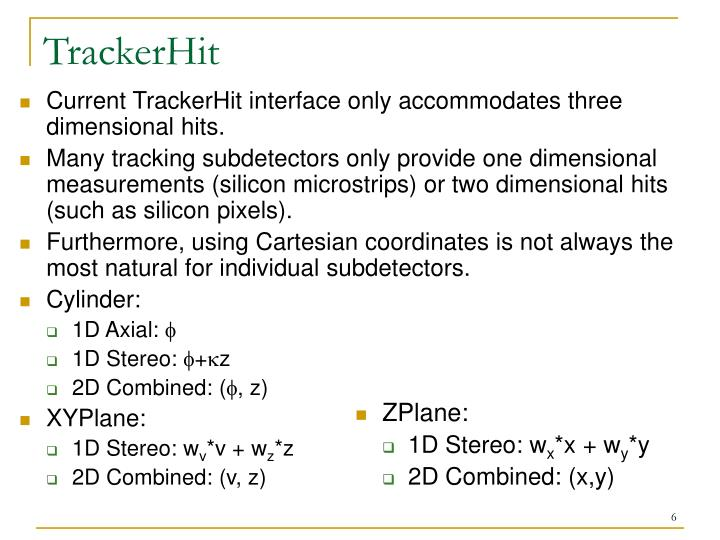 TrackerHit