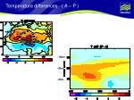 temperature differences a p