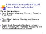 epa s voluntary residential wood smoke reduction initiative