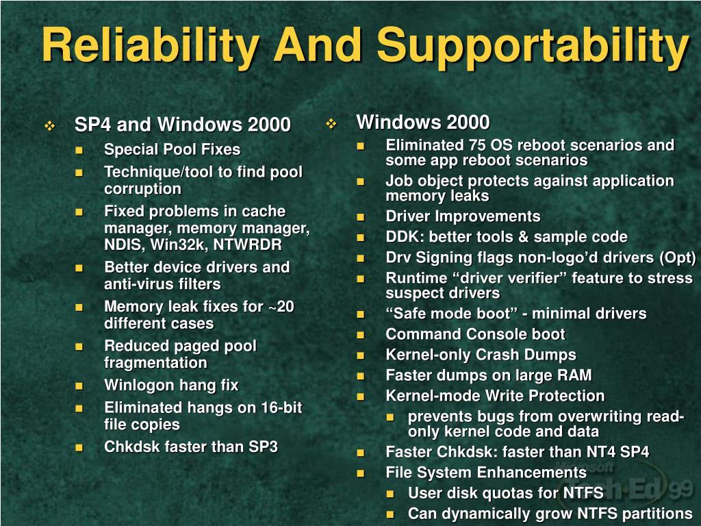 PPT - Windows 2000 Family PowerPoint Presentation - ID:3350389