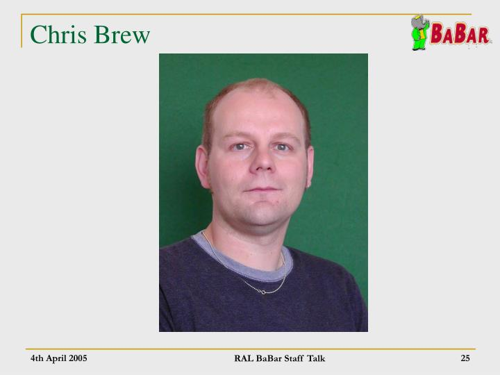 Chris Brew
