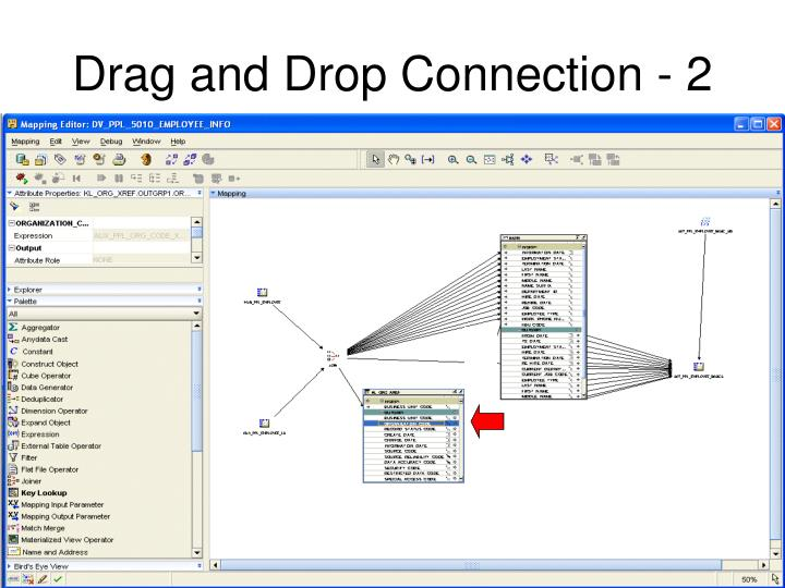 Drag and Drop Connection - 2