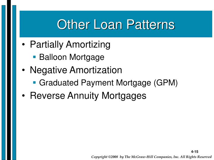 Other Loan Patterns