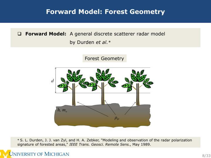 Forward Model: Forest Geometry