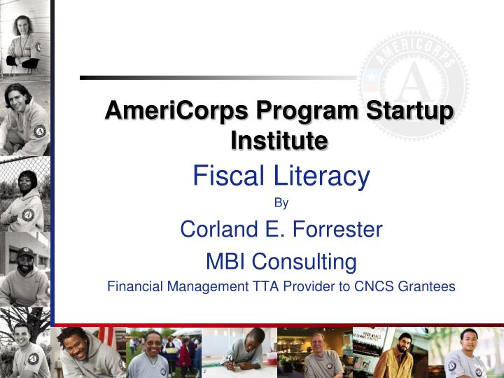 americorps program startup institute n.