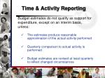 time activity reporting1
