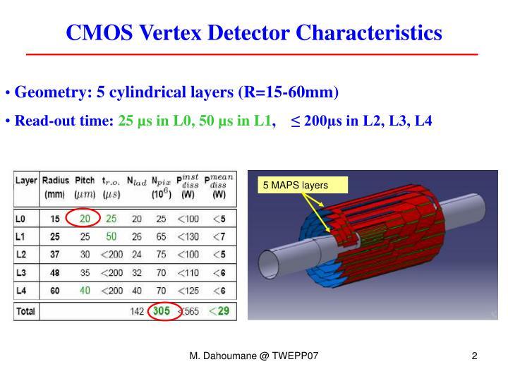 CMOS Vertex