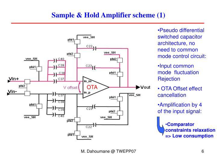 Sample & Hold Amplifier scheme (1)