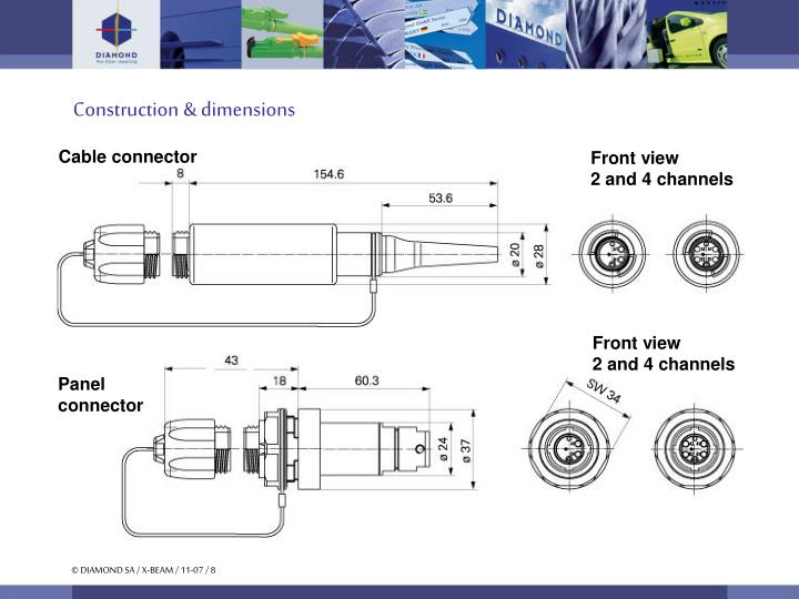 Construction & dimensions