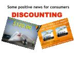 some positive news for consumers