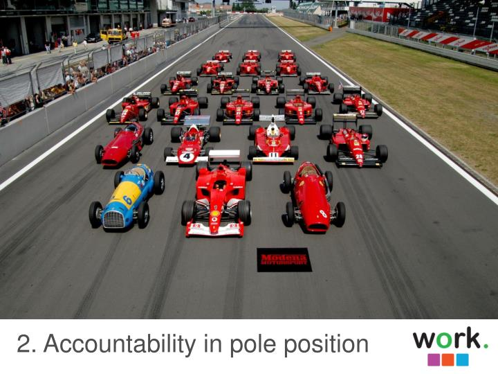 2. Accountability in pole position