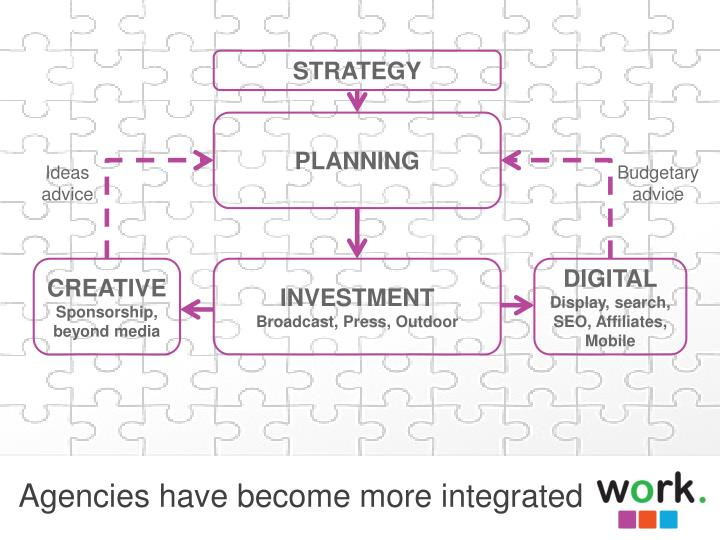 Agencies have become more integrated