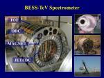 bess tev spectrometer