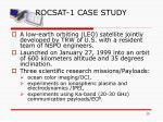 rocsat 1 case study