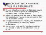 spacecraft data handling