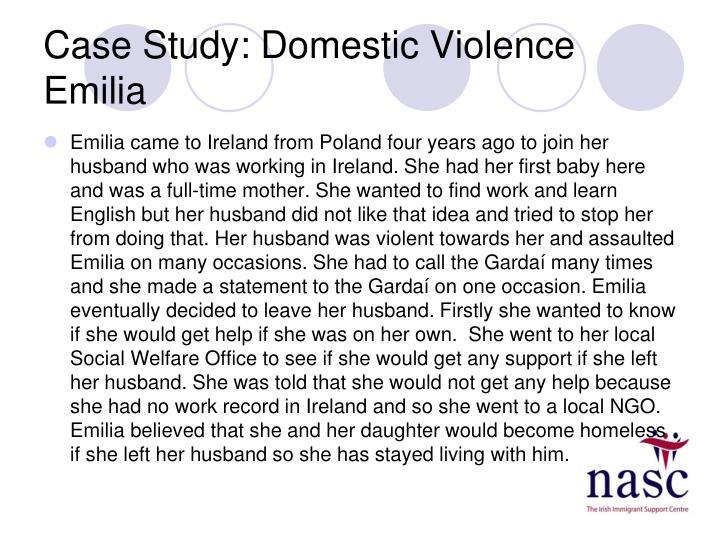 Case Study: Domestic Violence Emilia