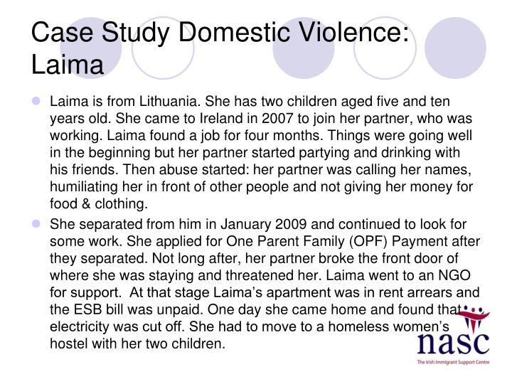 Case Study Domestic Violence: Laima