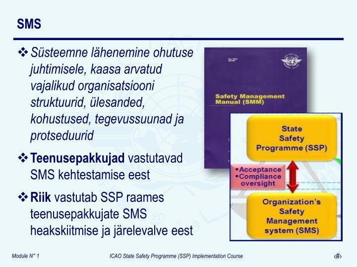 Süsteemne lähenemine ohutuse juhtimisele, kaasa arvatud vajalikud organisatsiooni struktuurid, ülesanded, kohustused, tegevussuunad ja protseduurid