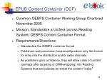 epub content container ocf
