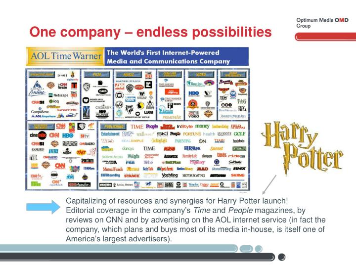 One company – endless possibilities