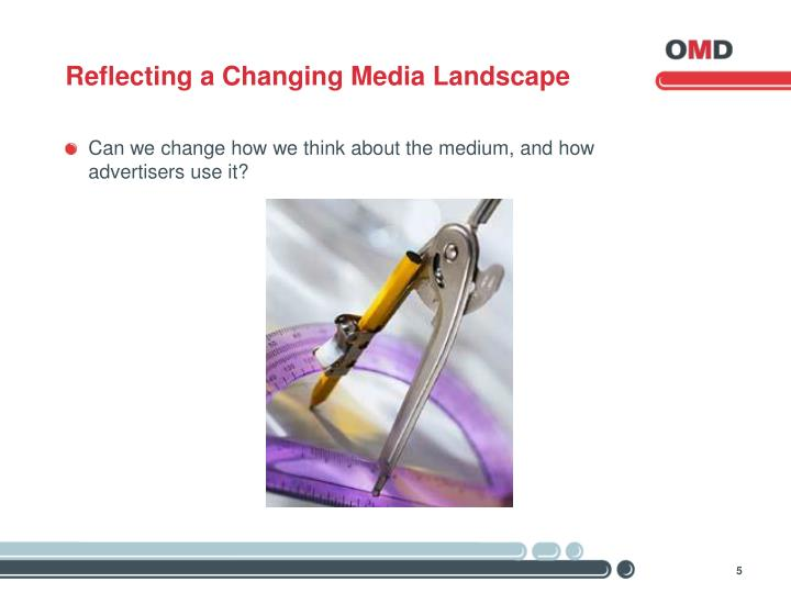 Reflecting a Changing Media Landscape