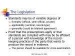 the legislation4