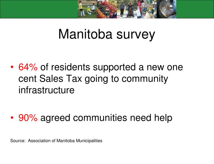 Manitoba survey