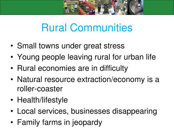 Rural Communities