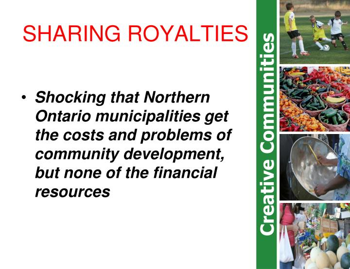 SHARING ROYALTIES