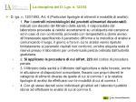 la disciplina del d lgs n 123 93