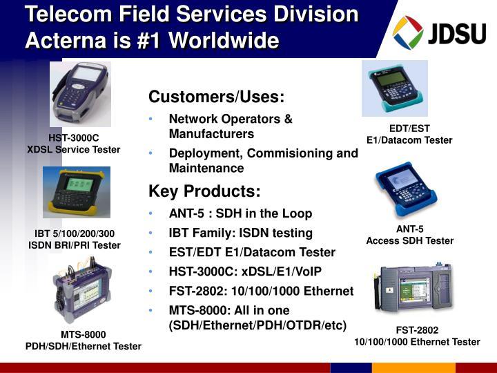 Telecom Field Services Division