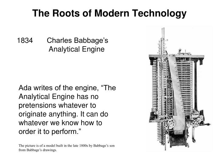 The Roots of Modern Technology
