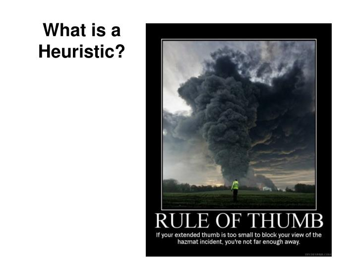 What is a Heuristic?
