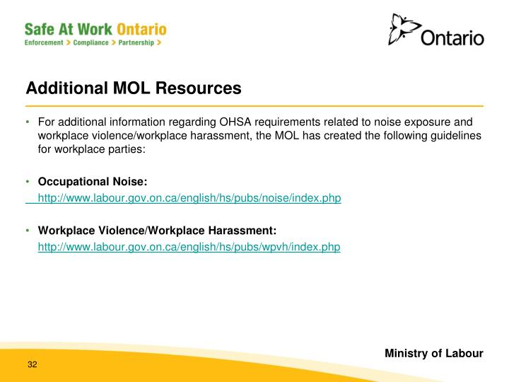 Additional MOL Resources