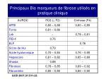 principaux bio marqueurs de fibrose utilis s en pratique clinique
