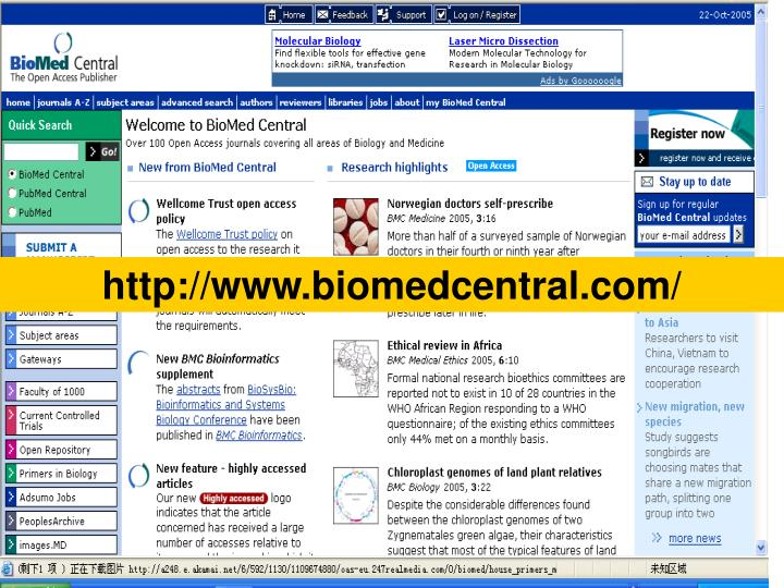 http://www.biomedcentral.com/