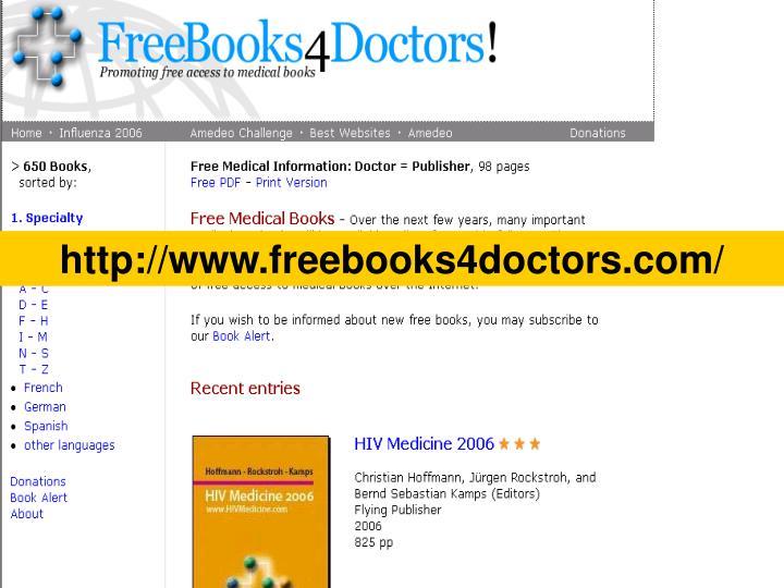 http://www.freebooks4doctors.com/