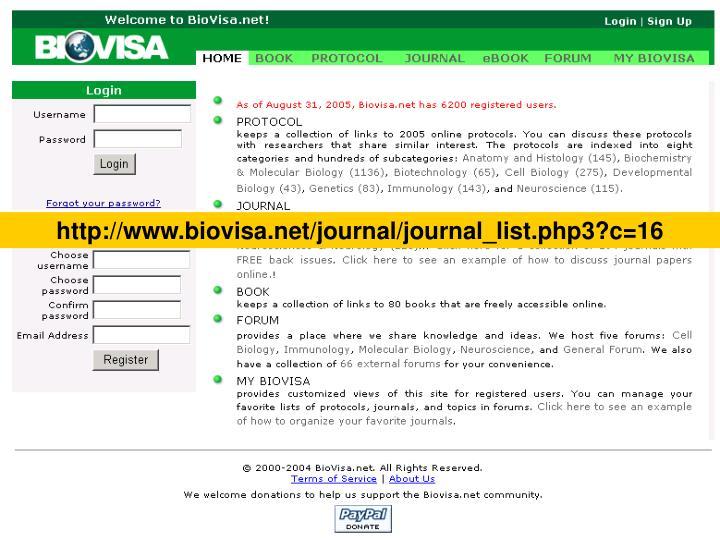 http://www.biovisa.net/journal/journal_list.php3?c=16
