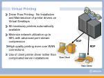 virtual printing
