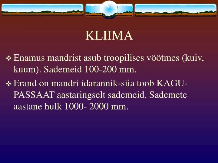 KLIIMA