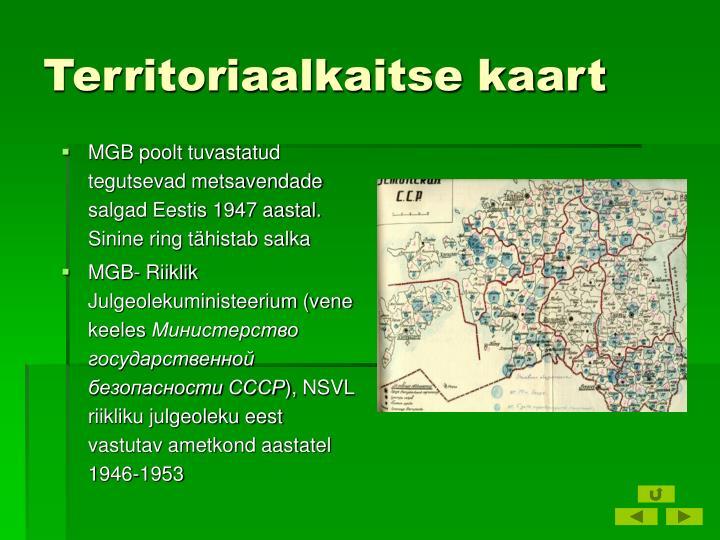 Territoriaalkaitse kaart